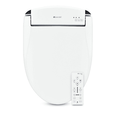Brondell Swash Bidet Seat White with Air Dryer and Remote Control