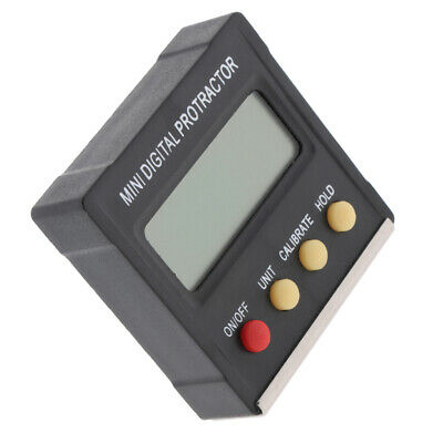 Mini Digital Protractor Inclinometer Level Meter Digital Bevel Box Magnetic