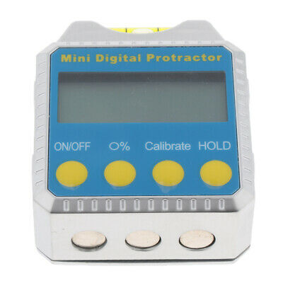 Mini Digital Inclinometer Protractor Bevel Box Angle Gauge Magnet Base