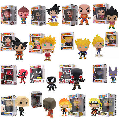 Xmas Gift Funko POP Marvel Series Movie Game Characters Vinyl Action Figure Toys