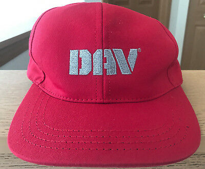 DAV Hat Cap VTG Vintage Disabled American Veterans Red Strapback Made in  USA EUC 418fdcc163a8