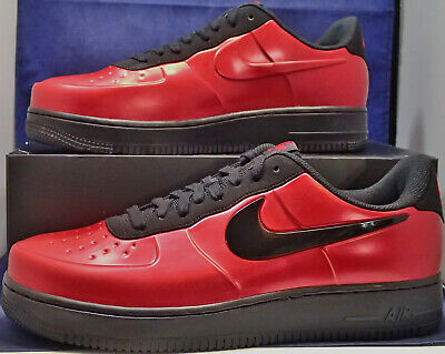 ea07662668391 Nike Air Force 1 Foamposite Pro Cup Low Gym Red Black AF1 SZ 9 ( AJ3664