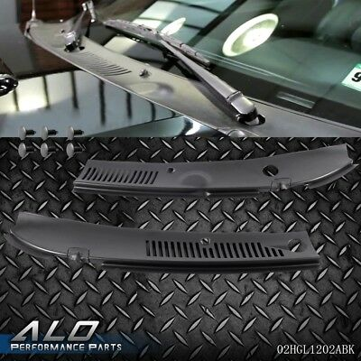 New Black ABS Wiper Cowl Grille Fits Ford Mustang 3R3Z6302228AAA FO1270102