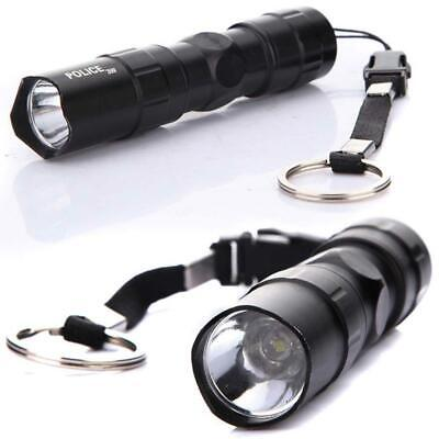 3W Police LED Mini Waterproof Ultra Bright Flashlight Torch Camping Hiking BE