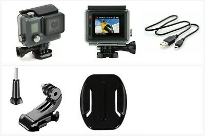 Used GoPro HERO+ LCD 1080p HD Action Camera touch screen waterproof accessories