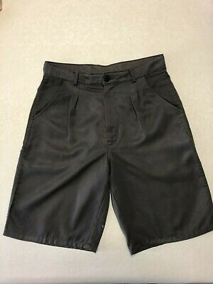School Shorts GREY Boys Size 30 cm In good used condition Beare & Ley AUST. made