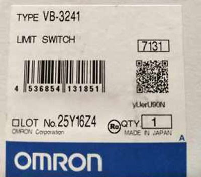 1PC New Omron Limit Switch VB-3241  #RS8