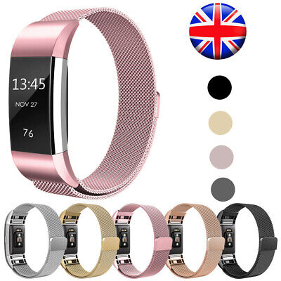 For Fitbit Charge 2 Strap Replacement Accessory Milanese Band Magnet Men Women