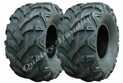 Two Quad tyres 22X10-9 4ply Wanda 'E' Marked road legal ATV tyre 22 10.00 9 tire