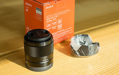 New Sony FE 28mm f/2 Lens for Full Frame A7S II A7R II SEL28F20 FREE Shipping