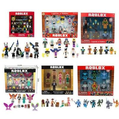 2018 Roblox Figures 4/6 Piece Set 7cm 2.8'' Inch PVC Game Roblox Toys Kids Gift