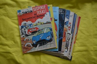 Lot de 10 Journal de Tintin du n°680 au n°689