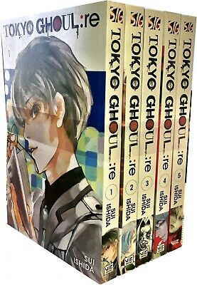 Sui Ishida Tokyo Ghoul Revised Edition Volume 1-5, 5 Books Collection Set Pack