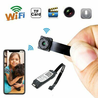 Wireless Spy Tiny IP WIFI Mini DIY Pinhole Hidden Audio Video Camera Micro DVR