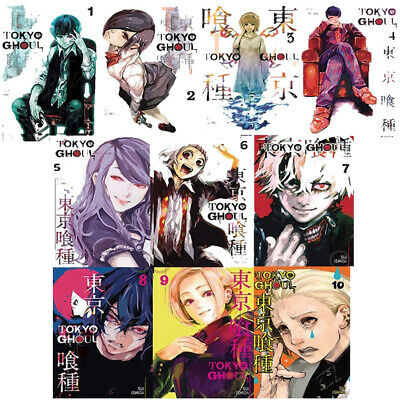 Tokyo Ghoul Volume 1-10 Bundle 10 Books Collection Set Pack By Suilshida NEW