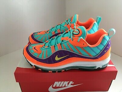 the best attitude 95bc0 52490   Excellent   Nike Air Max 98 QS Supreme Vibrant Air UK11 US12