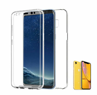 "Funda 360º Compatible Con Iphone Xr 6.1"" Doble Cara Trasera Rigida Sin Puntos"