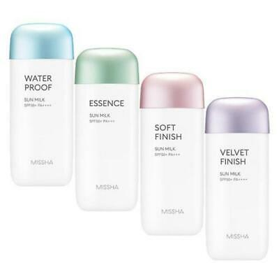[MISSHA] All Around Safe Block Sun Milk Serise Waterproof, Essence, Soft, Velvet
