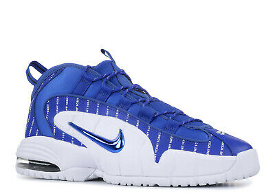 e26577d5a1 NIKE AIR MAX Penny 1 Royal Blue White Black Pinstripe Hardaway AV7948-400  Sz 13