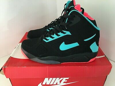 reputable site e9705 3ff24 Brand New Nike Air Flight Lite High Black Hyper Jade Punch UK11