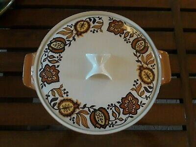 Iroquois Informal MADRID by Ben Seibel Round Covered Vegetable Dish