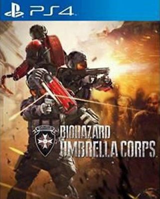 Sony PS4 Playstation 4 Spiel ***** Resident Evil Umbrella Corps