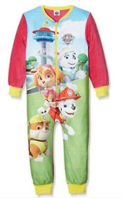Girls Paw Patrol All in One Sleep Lounge Suit Pyjamas Age 2-3 Years