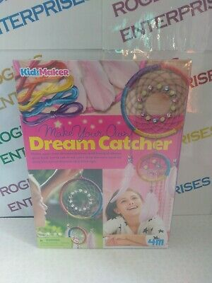 4M Kidzmaker Make Your Own Dream Catcher Craft Set NEW