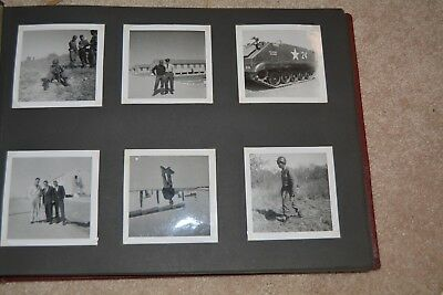 1960 Photo Album African American Soldier 11 1/2 X 15 3/4 61 Photos Made Germany