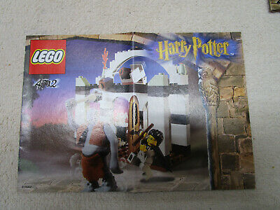 Lego Harry Potter INSTRUCTION BOOK, FOR SET 4712 TROLL ON THE LOOSE VERY NICE