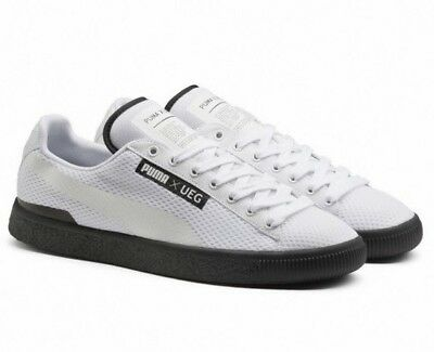 New Puma Court x UEG Premium 361496 02 Mens White Sneakers Shoes Trainers  UK 7 1bc043d14