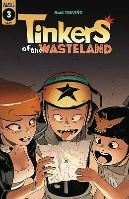 Tinkers Of The Wasteland #4 - 1St Print - (Scout Comics) Boarded. Free Uk P+P!