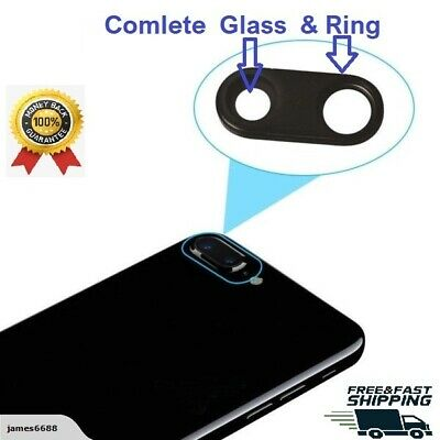 NEW iPhone 7 PLUS Back Rear Main Camera Lens Cover Glass with adhesive no Frame