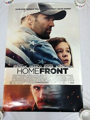 Homefront Movie Poster Original Theater Double Sided 27x40 inches Statham Ryder