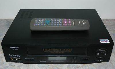 Sharp VC-MH781 6-Head Hi-Fi Stereo Videorecorder