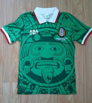 Mexico Authentic 1998 World Cup Soccer Jersey (S-XXL) Ships World Wide. 0053c8ddc