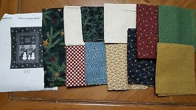 Thimbleberries Quilt Club Project 2003 With All Fabrics Included