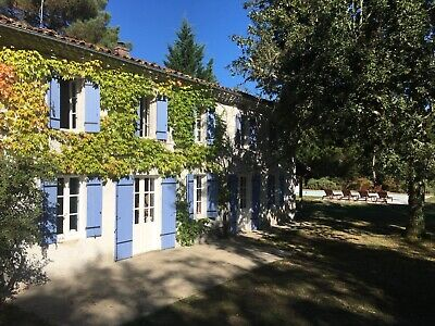 Stunning Rural Holiday Home with Private Pool in SW France (45mins Bordeaux)