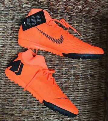 166027181a68 Nike Mercurial Superfly 6 Academy TF Football Sock Boot Trainers Uk Size 9.5