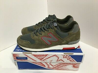 NEW BALANCE 1400 HR M1400HR Green Red UK10.5 US11 Limited Edition