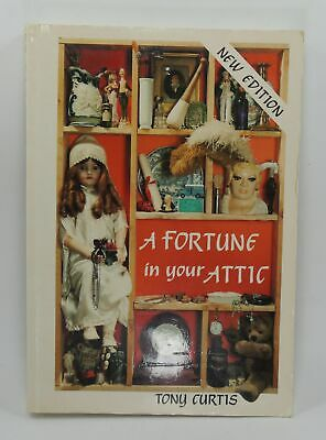 Tony Curtis - A Fortune In Your Attic - New Edition Book - Fast Free Delivery