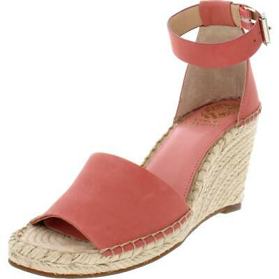 545a4d7b00 Vince Camuto Womens Leera Braided Wedge Ankle Strap Espadrilles Shoes BHFO  0264