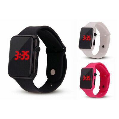 Fashion Electronic Digital Waterproof LED Display Watch for Unisex /Child I6F3V