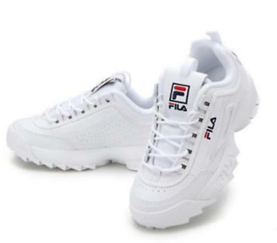 Womens FILA Disruptor II 2 Sneakers Casual Athletic Running Walking Sports Shoes