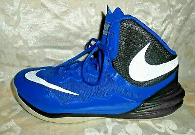 cheap for discount f378c ee19c Nike Prime Hype DF II Basketball Shoes Men s Size 8 Blue