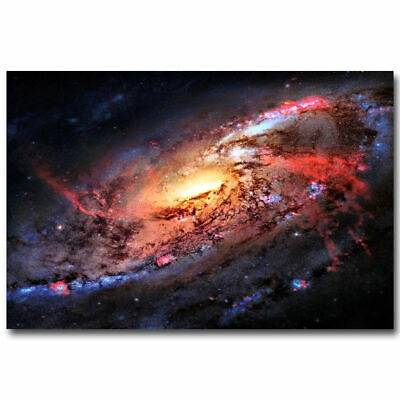 N-117 Outer Space Nasa Universe Galaxy Star Planet Silk Poster 12x18 24x36 27x40