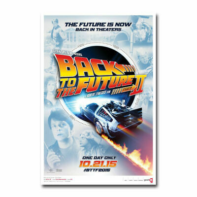 N-161 Back To The Future Hot Movie Silk Poster 12x18 24x36 27x40