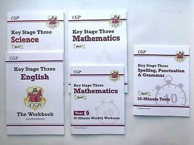 KS2 Maths English Leap Ahead Home Learning Workbook Set Ages 8-10 New Year 4 5