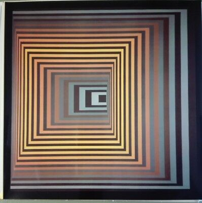 Victor Vasarely VONAL-FEGN  heliogravure on paper 1968  Edition du Griifon