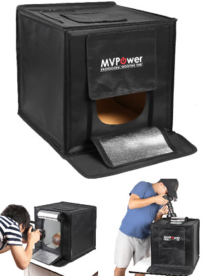Studio fotografico Light box tenda mini Portable fotografia riprese kit LED luce